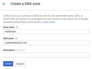 Create a DNS