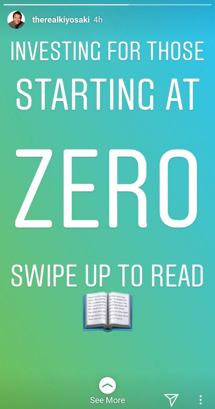 Swipe up to read