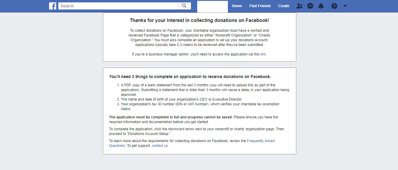 FB Charity